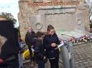 Schülergruppe in Bailleul Nov 2018 - Gedenken an Kriegsende 1918_2