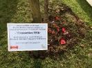 Schülergruppe in Bailleul Nov 2018 - Gedenken an Kriegsende 1918_4