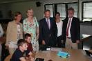 Parteichef Christian Lindner informiert sich am AFG über den Unterricht mit iPads_7